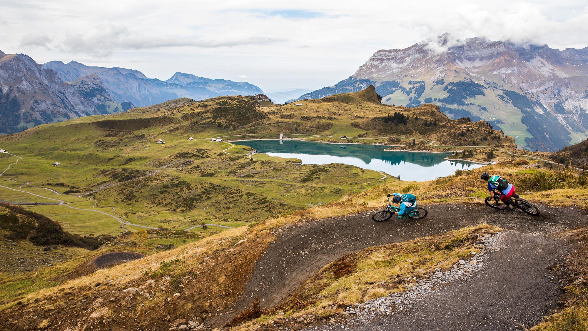 Klettersteig Jochpass : Jochpass trail